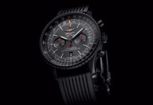 Choose The Lightweight Sporty Breitling Navitimer 46 Blacksteel Replica Watch