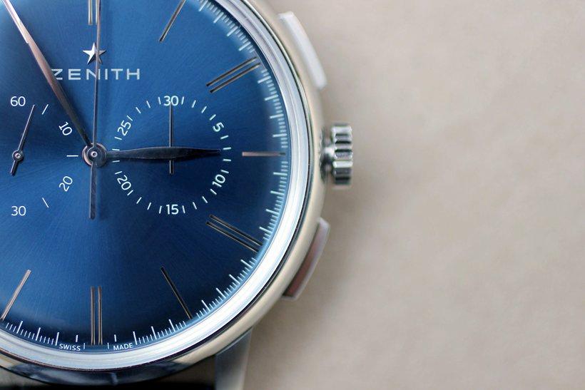Zenith El Primero Chronograph Classic Blue replica