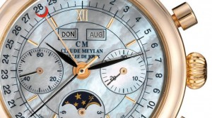 Claude Meylan Légende 88 Calendar Moon Phase Chronograph Replica Watch