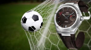 IWC Ingenieur Zinedine Zidane Automatic Replica Watch with Dark Chocolate Brown Dial