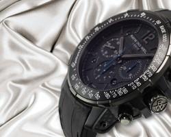Interview with The Mens Replca Raymond Weil Nabucco Rivoluzione Black Chronograph Watch