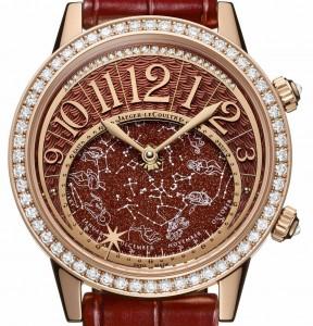 The Luxury Pinik Gold Jaeger-LeCoultre Rendez Vous Celestial Watch Replica