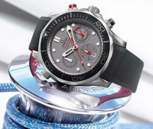 2015 America's Cup Omega Replica Seamaster Diver 300M Co-Axial Chronograph ETNZ Watch