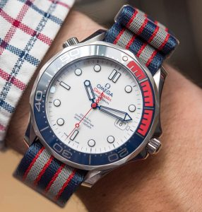Where To Buy Omega Seamaster Diver 300M 'Commander's Watch' Limited Edition Inspired By James Bond 007 Hands-On Japanese Movement Replica