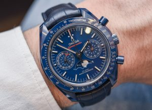 We Buy Omega Speedmaster 'Blue Side Of The Moon' Co-Axial Master Chronometer Chronograph Moonphase Watch Hands-On Grade 1 Replica Watches