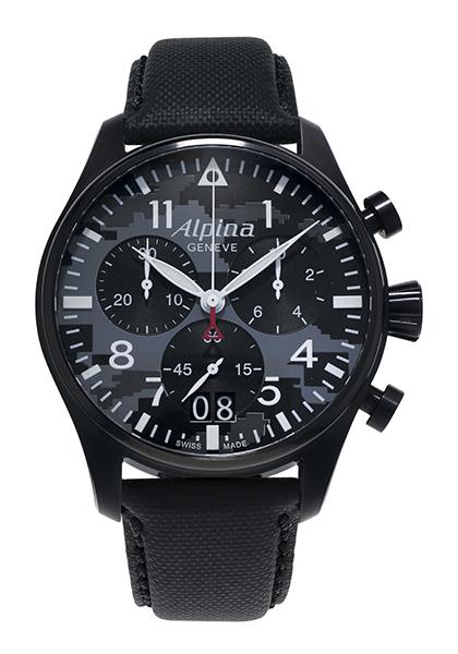Startimer Pilot Quartz Big Date Chronograph