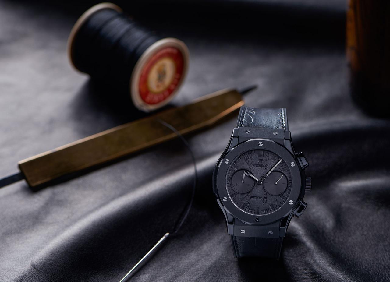 Hublot Classic Fusion Chronograph Berluti black