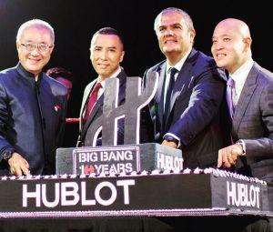 Action Star Donnie Yen Unveils the Million Dollar Hublot MP-05 LaFerrari Golden Jubilee Replica Watches Buy Online