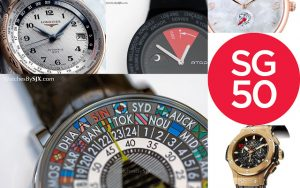 Five Special Edition Watches For SG50 – Singapore's 50th Anniversary Replica Expensive